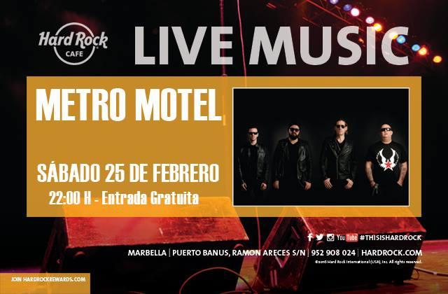 Metro Motel en Hard Rock Cafe Marbella
