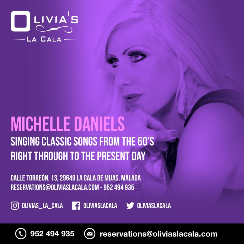 Michelle Daniels plays Olivia's La Cala