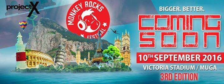 Monkey Rocks Festival Gibraltar 2016