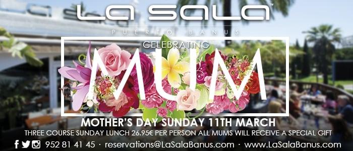 Mothers Day at La Sala Banus