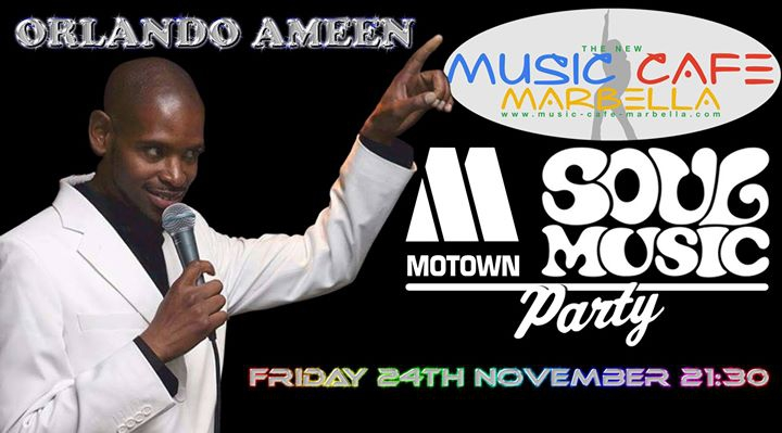 Motown and Soul by Orlando Ameen