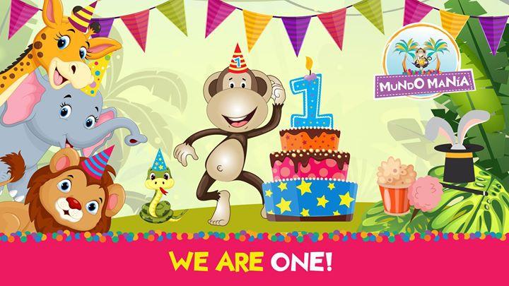 Mundo Manía's 1st Birthday!