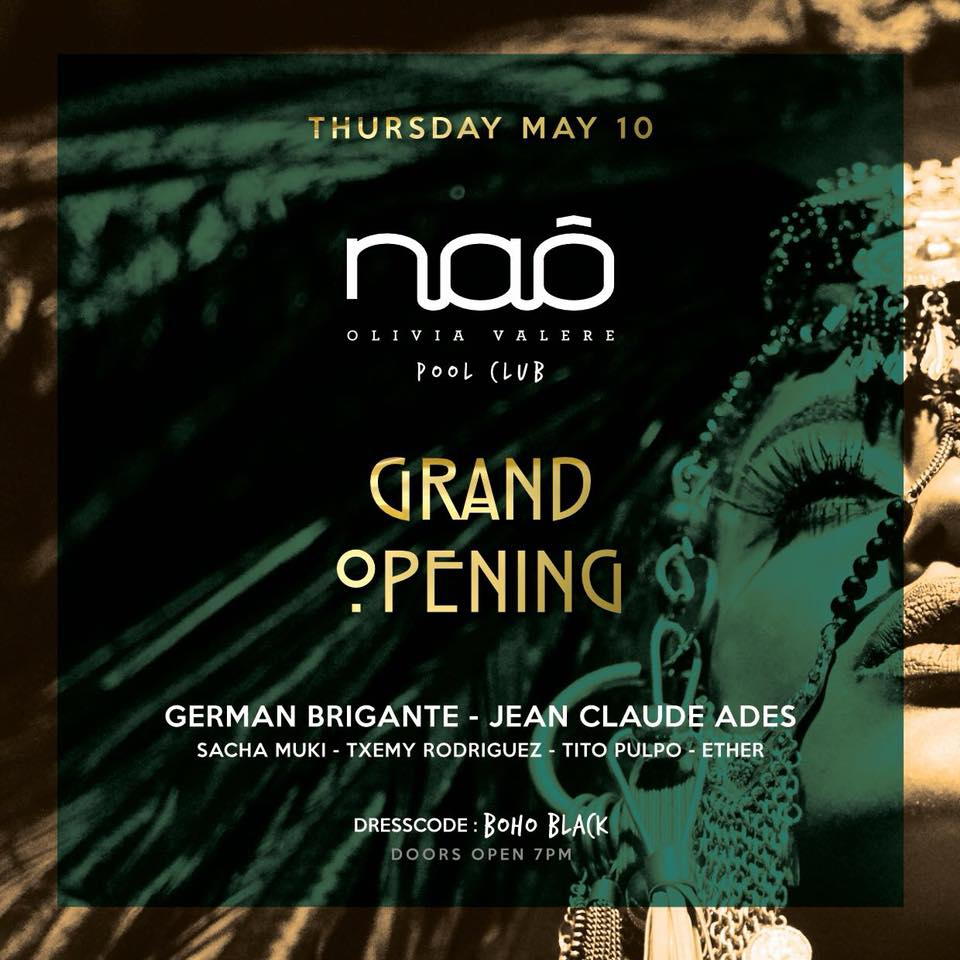 Nao Grand Opening Party