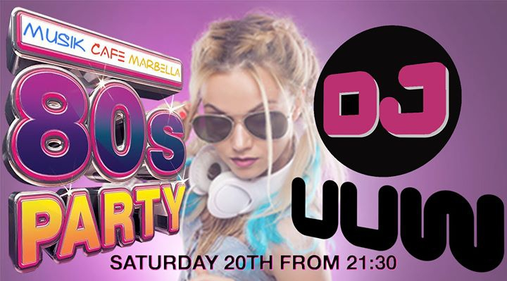 New 80`s Party by DJ UUW