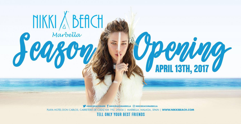 Nikki Beach Marbella Season Opening