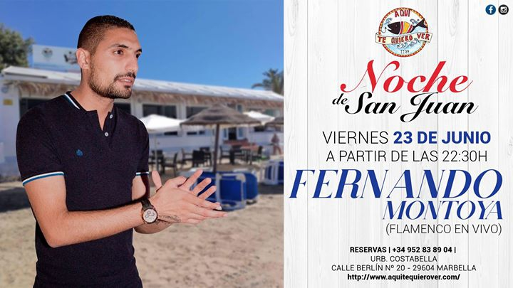 Noche de SanJuan | Flamenco en vivo con 'Fernando Montoya'