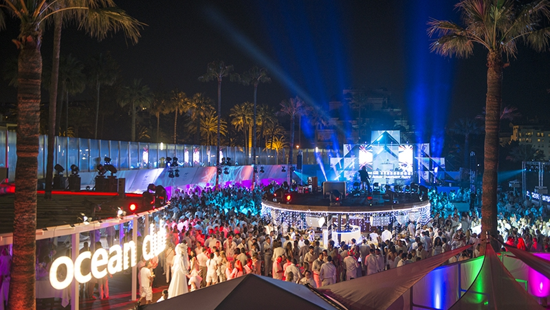 Ocean Club White and Silver Opening Party 2018