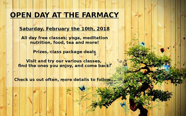Open Day At The Farmacy