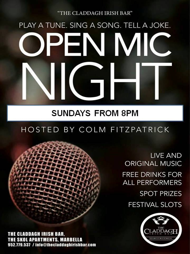 Open Mic at the Claddagh
