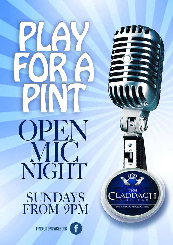 Open Mic Night at The Claddagh