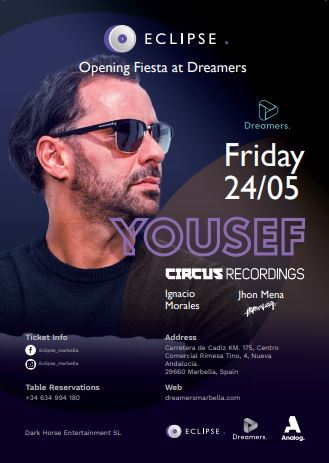 Opening party @ Dreamers with Yousef