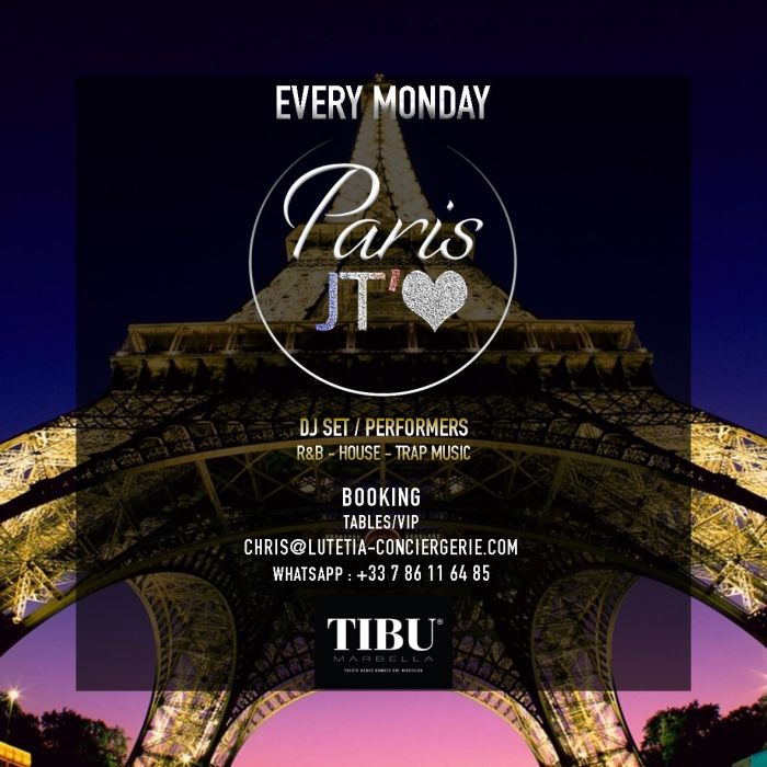 Paris Je T'Aime at Tibu