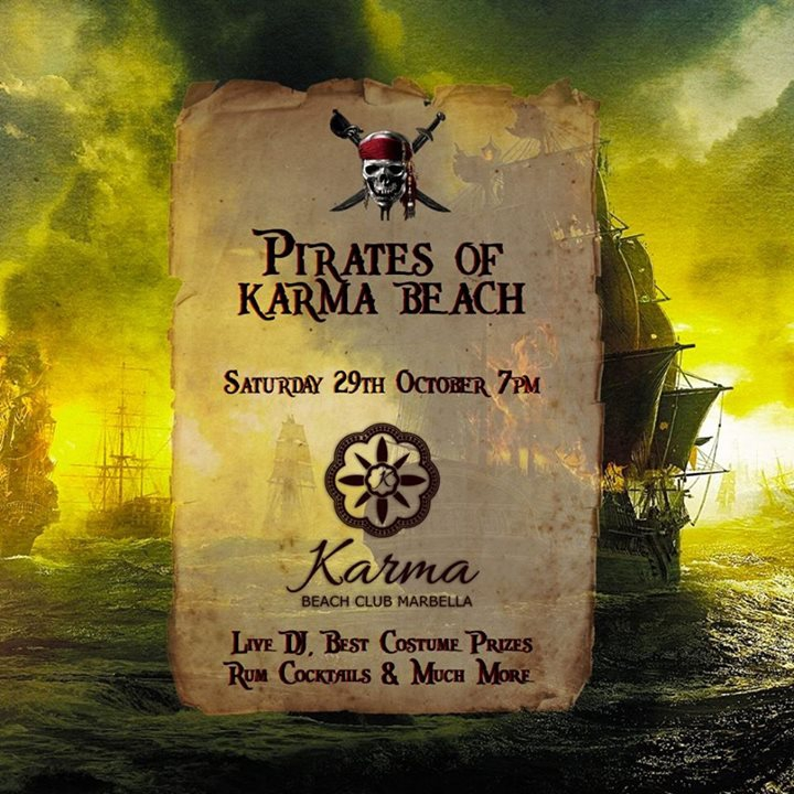 Pirates of Karma Beach - Halloween Party