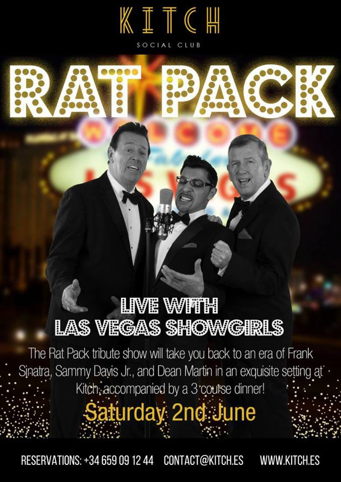 Rat Pack Show with Live Vegas Showgirls