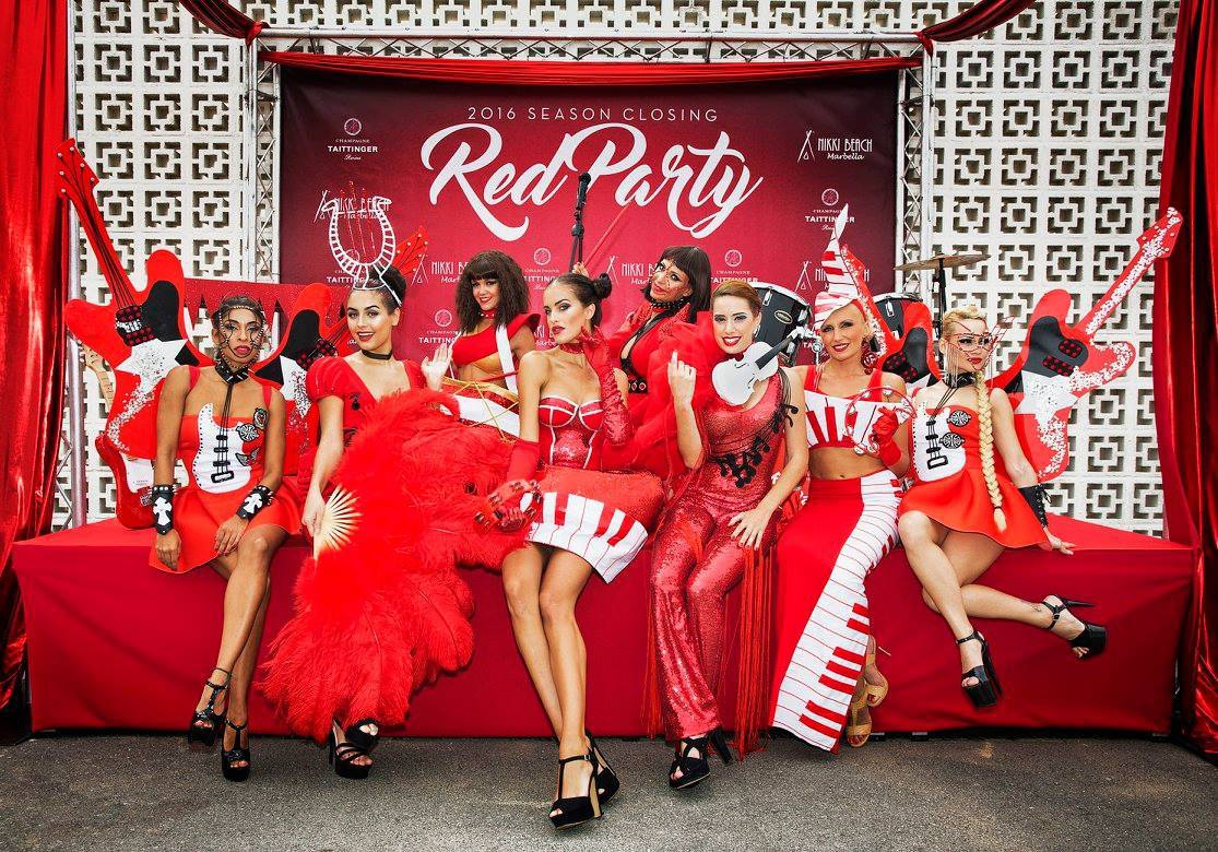 Red Closing Party 2017 at Nikki Beach