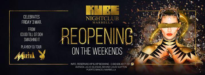 Reopening | KUBE Marbella