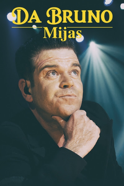 Robbie Williams Tribute at Da Bruno Mijas