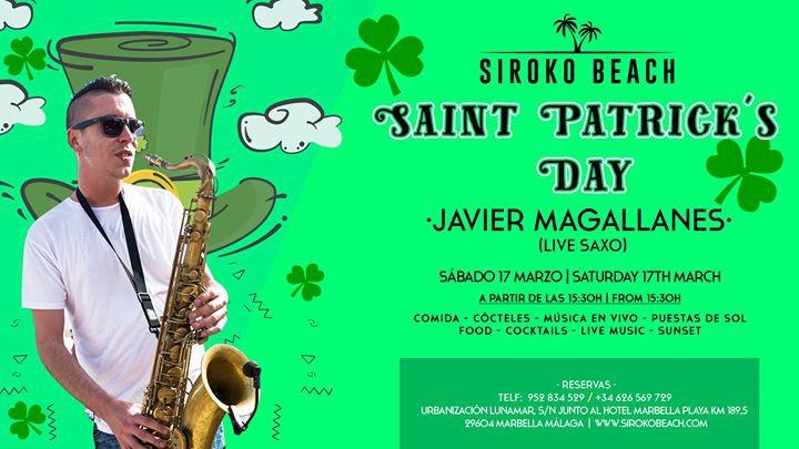 Saint Patricks day at Siroko - Javier Magallanes (Live Saxo)