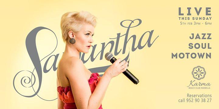 Samantha Singing LIVE
