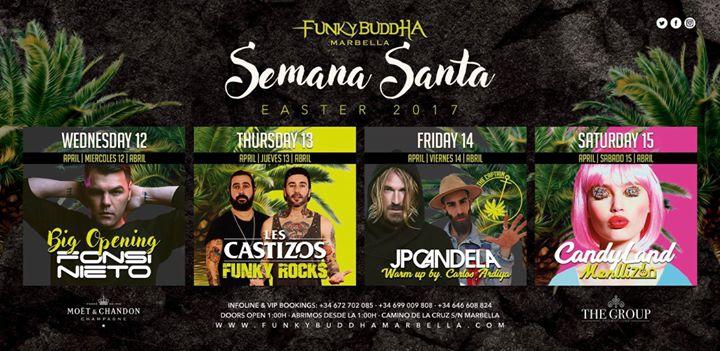 Semana Santa en Funkybuddha Marbella!