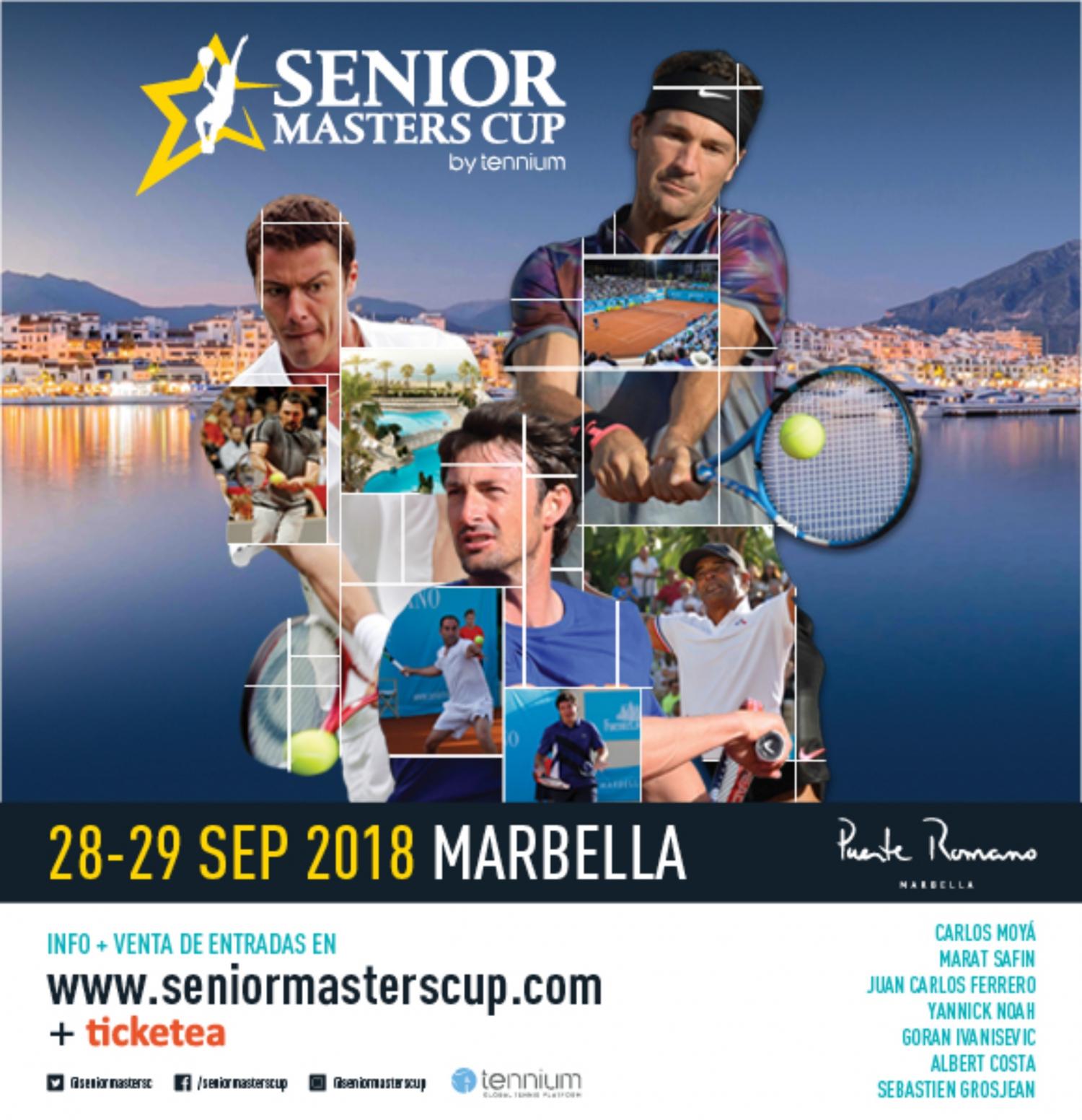 Senior Master Cup in Puente Romano