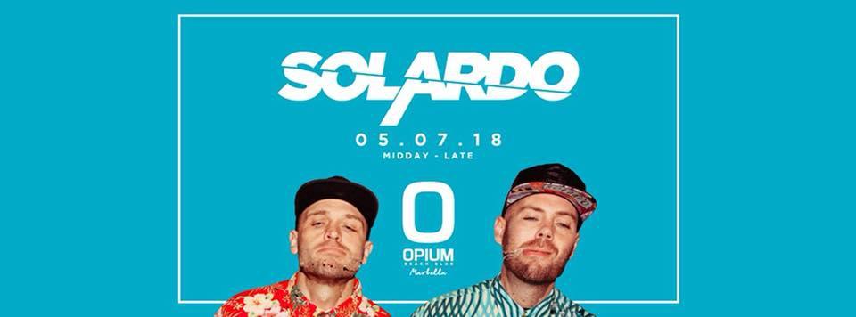 Solardo at Opium