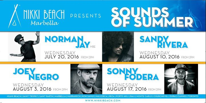 Sounds Of Summer 10th of August - Sandy Rivera