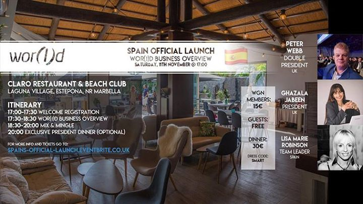 Spain's Official Launch Event