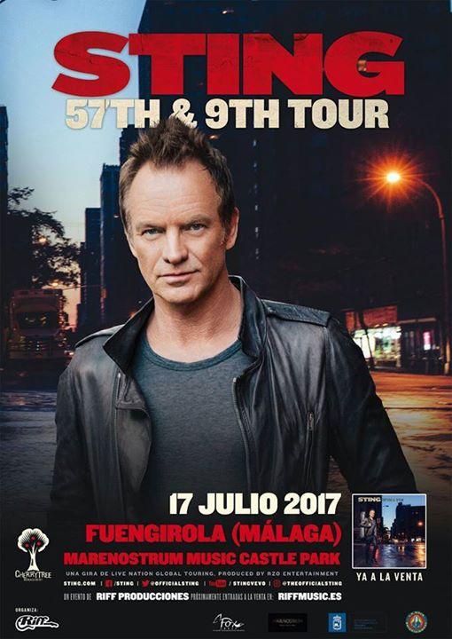 Sting in Concert in Fuengirola