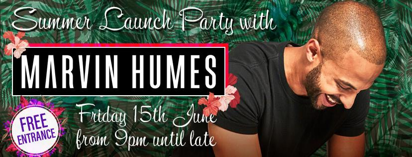 Summer Launch Party with Marvin Humes