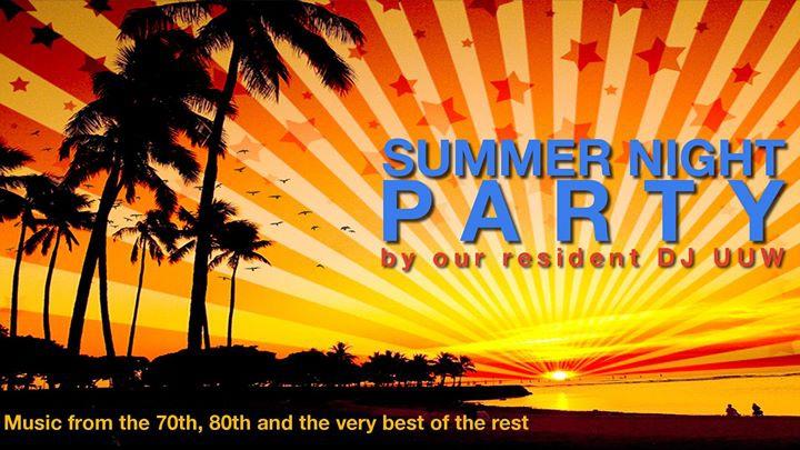 Summer Night Party by DJ UUW