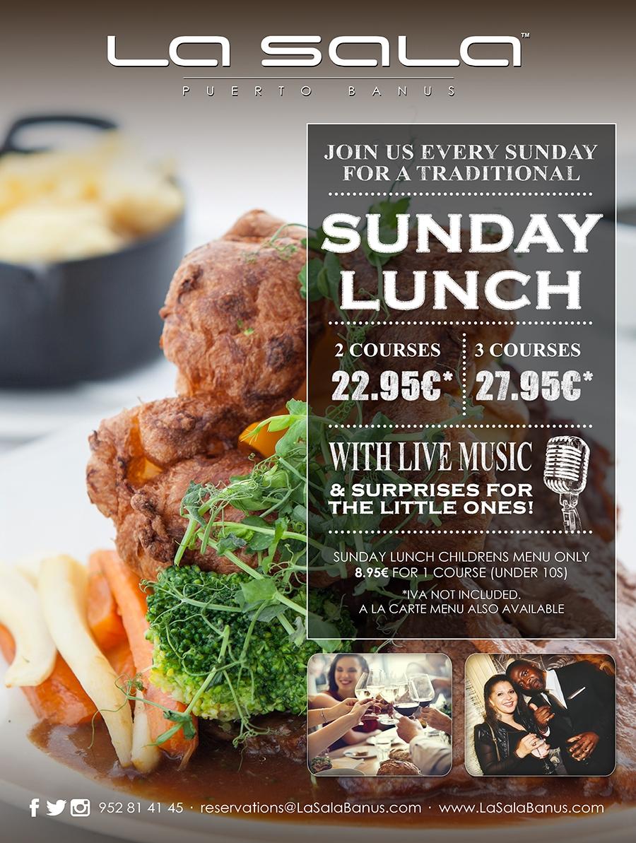 Sunday Lunch at La Sala Puerto Banus