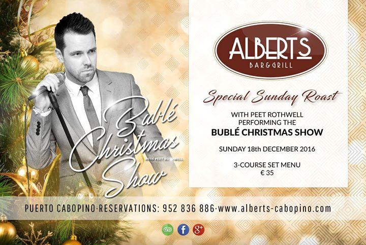 Sunday Lunch with Michael Bublé