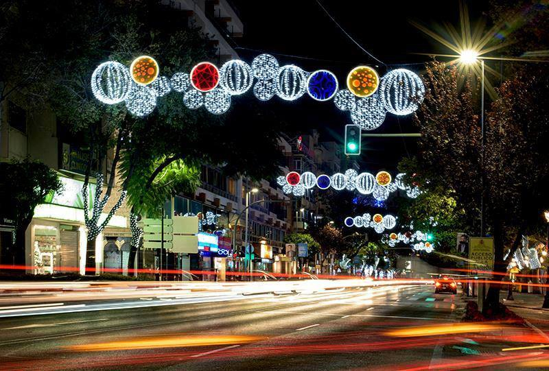 Switching on of Marbella Christmas Lights