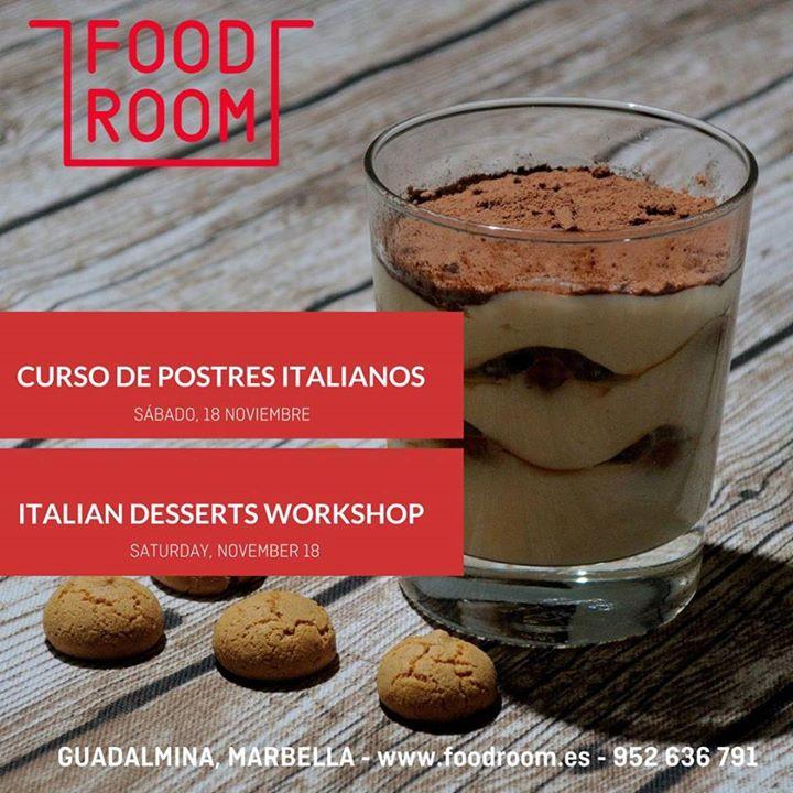 Taller Postres Italianos - Italian Desserts Workshop