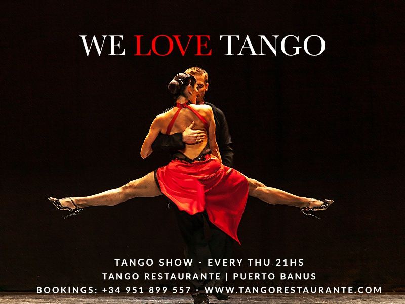 Tango Show every Thursday