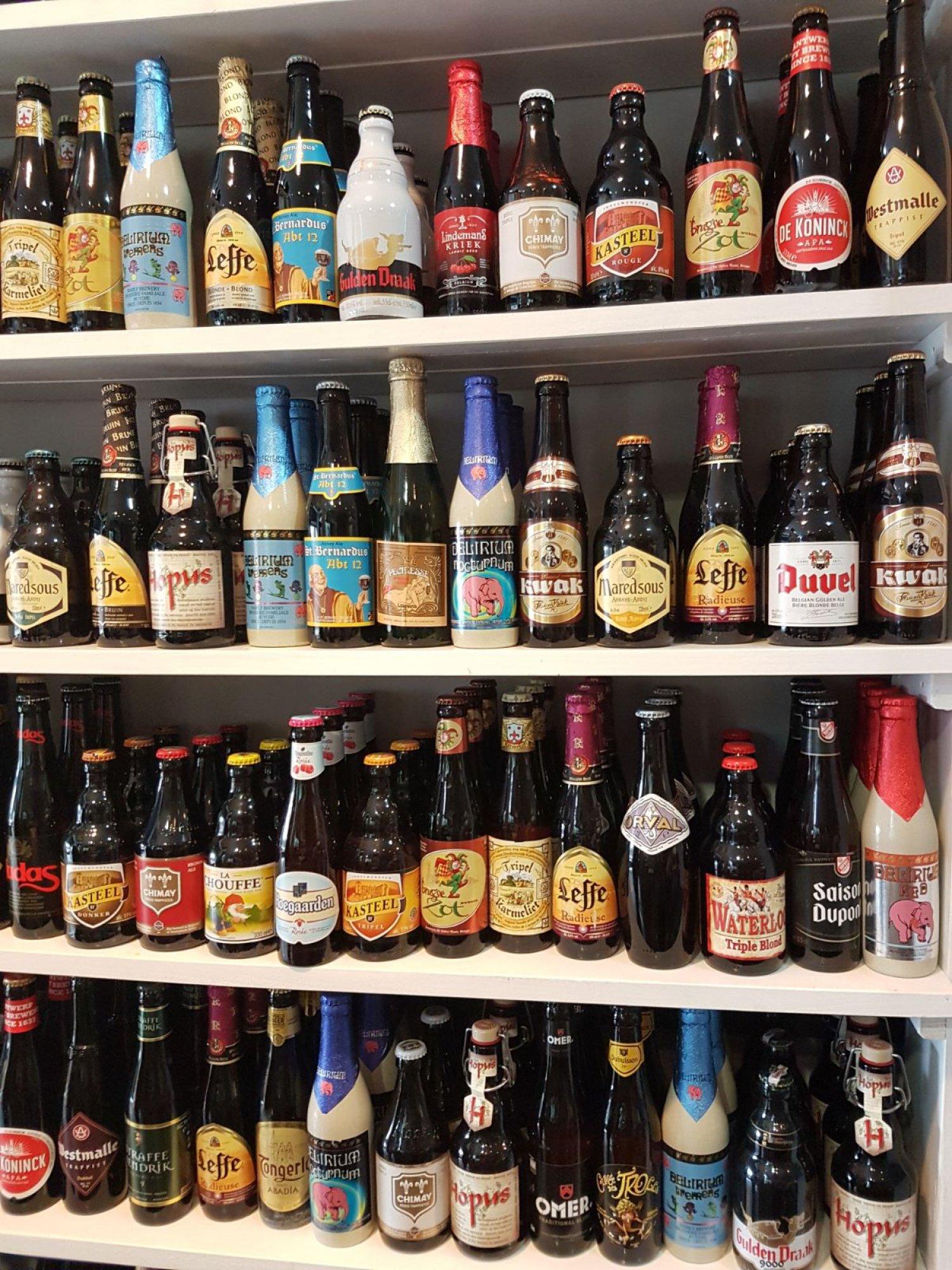 Taste Belgian Beers