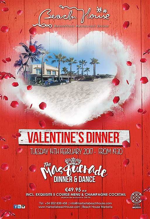 The Beach House Masquerade Valentine's Party