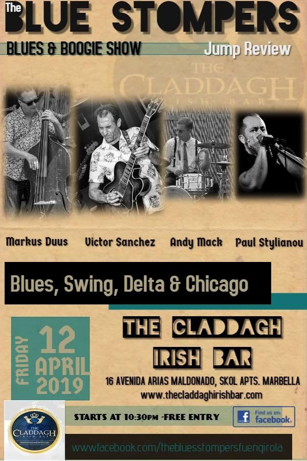 The Blue Stompers Jump Review live at The Claddagh