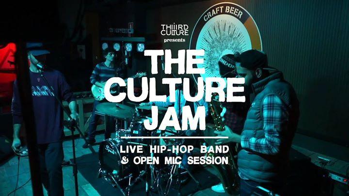 The Culture Jam: Live Hip-Hop Band & Open Mic