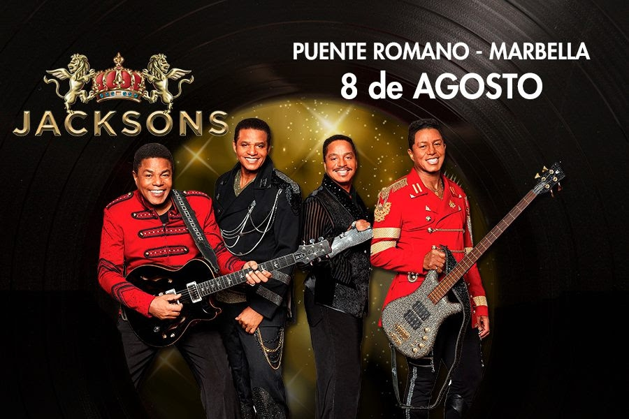 The Jacksons are coming to Marbella
