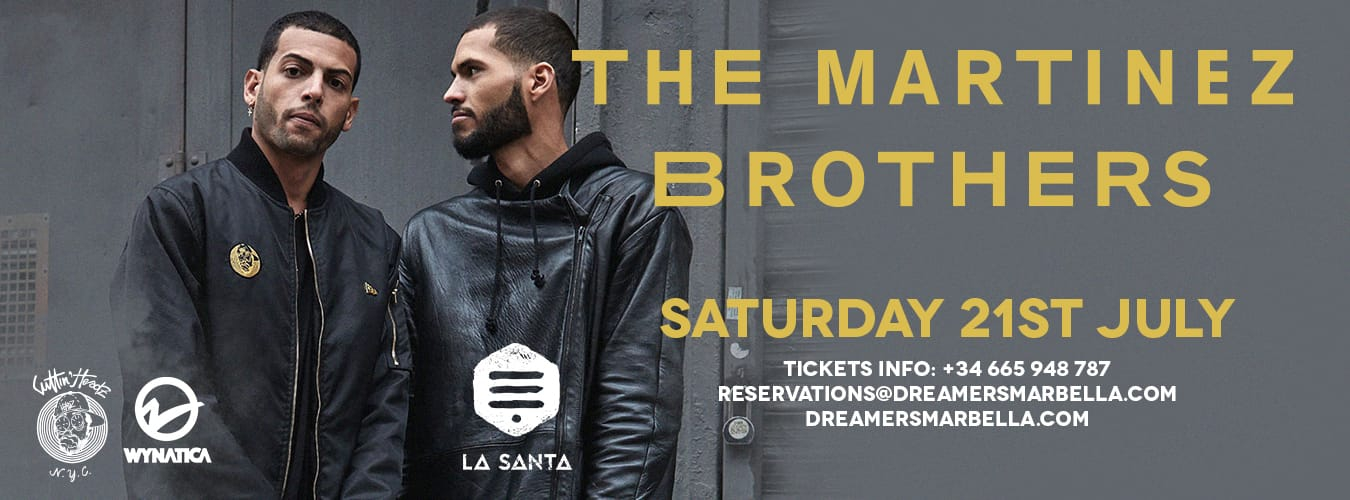 The Martinez Brothers at Dreamers
