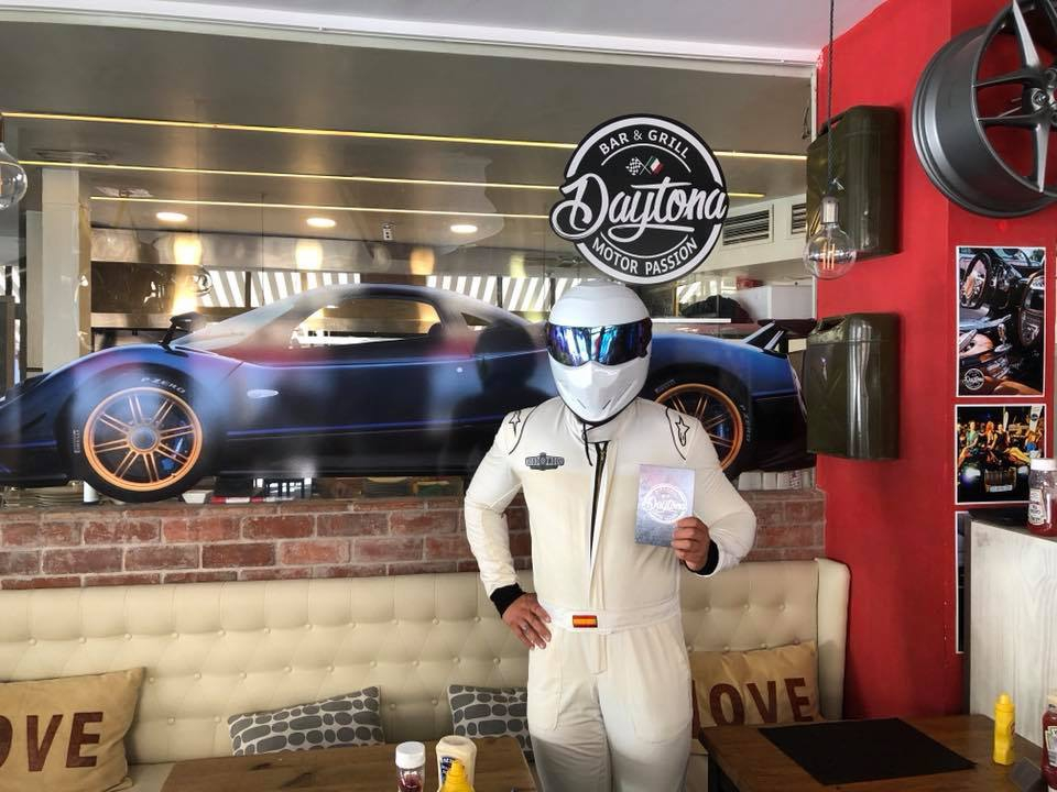 The Stig From Top Gear is coming to Daytona
