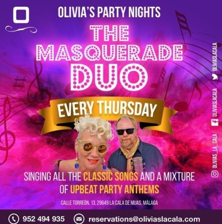 Thursday Nights, Party Night at Olivias La Cala