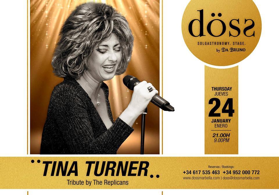 Tina Turner tribute at Doss