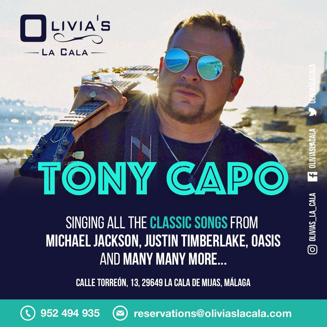 Tony Capo @ Olivia´s La Cala