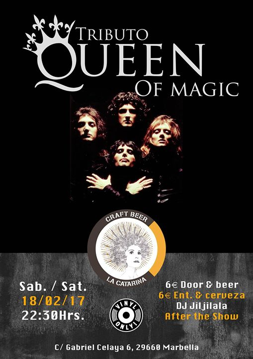 Tributo Queen of Magic
