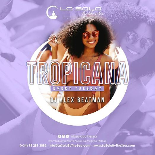Tropicana every Tuesday at La Sala by the Sea