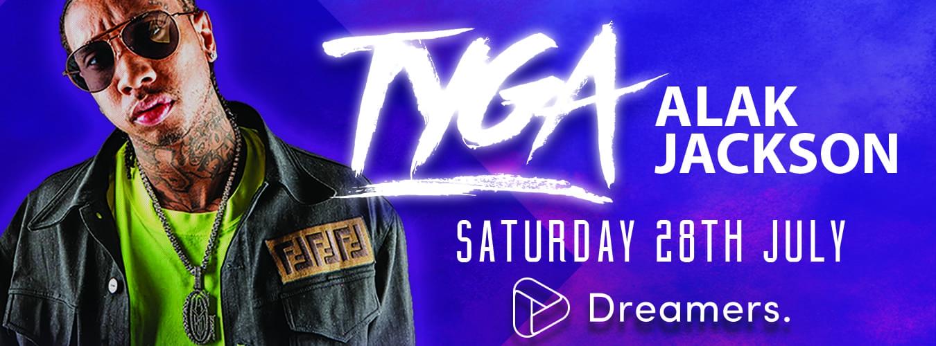 Tyga at Dreamers