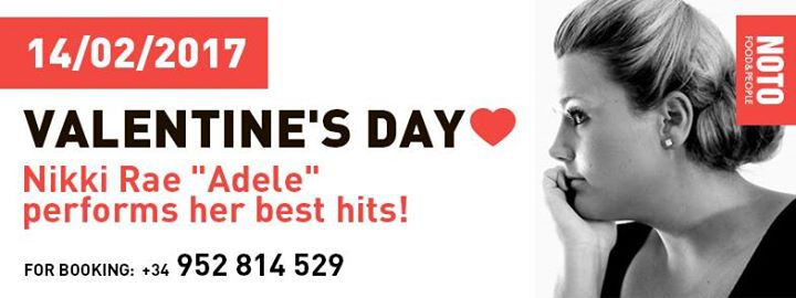 Valentine's Day with Nikki Rae 'Adele'